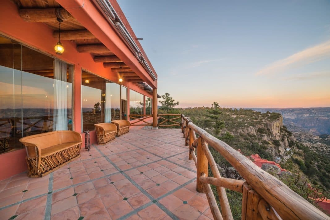 Beautiful Views Hotel Mirador Copper Canyon