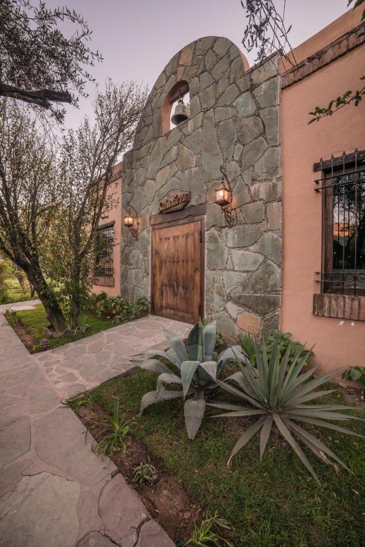 Entrance Hotel Cerocahui Copper Canyon