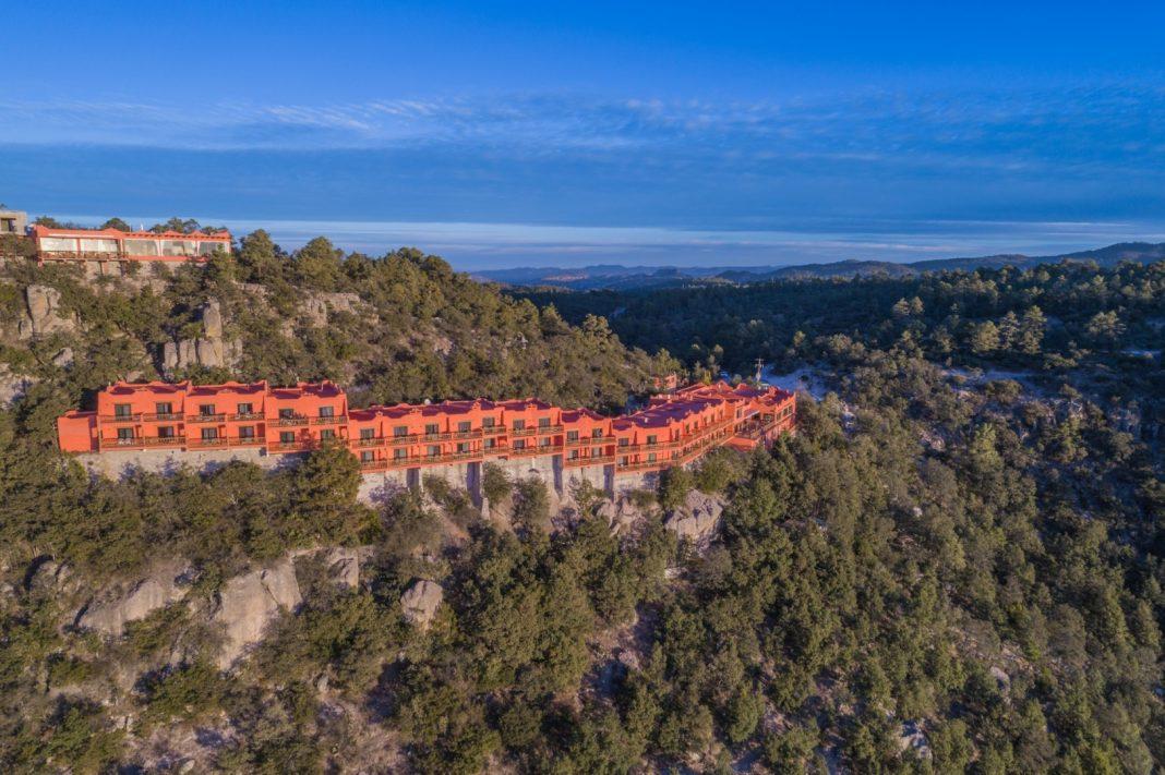 Front Hotel Mirador Copper Canyon Barrancas del Cobre