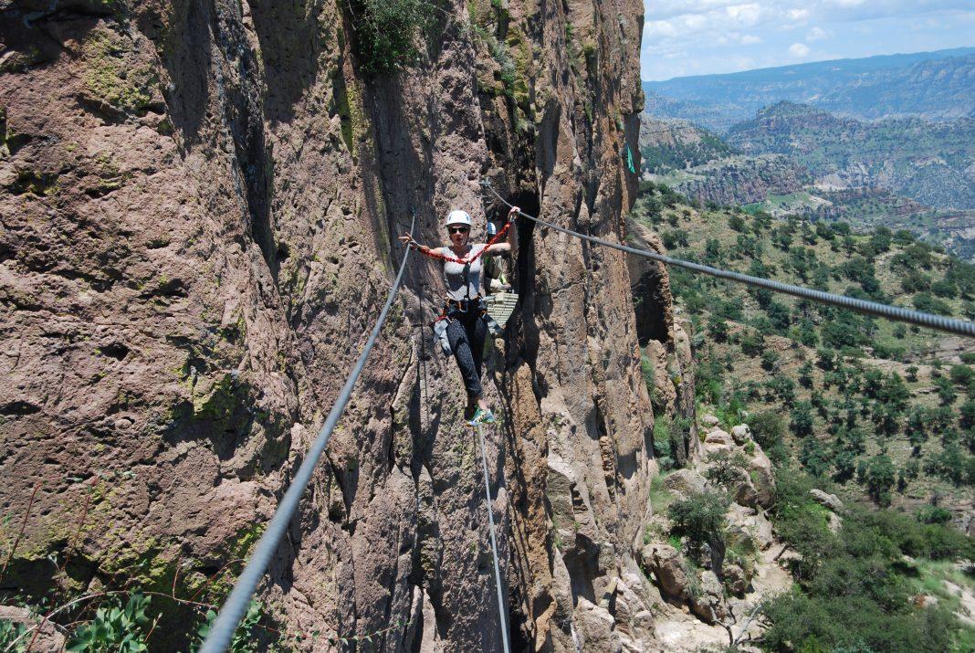 String Bridge Copper Canyon Adventure Park