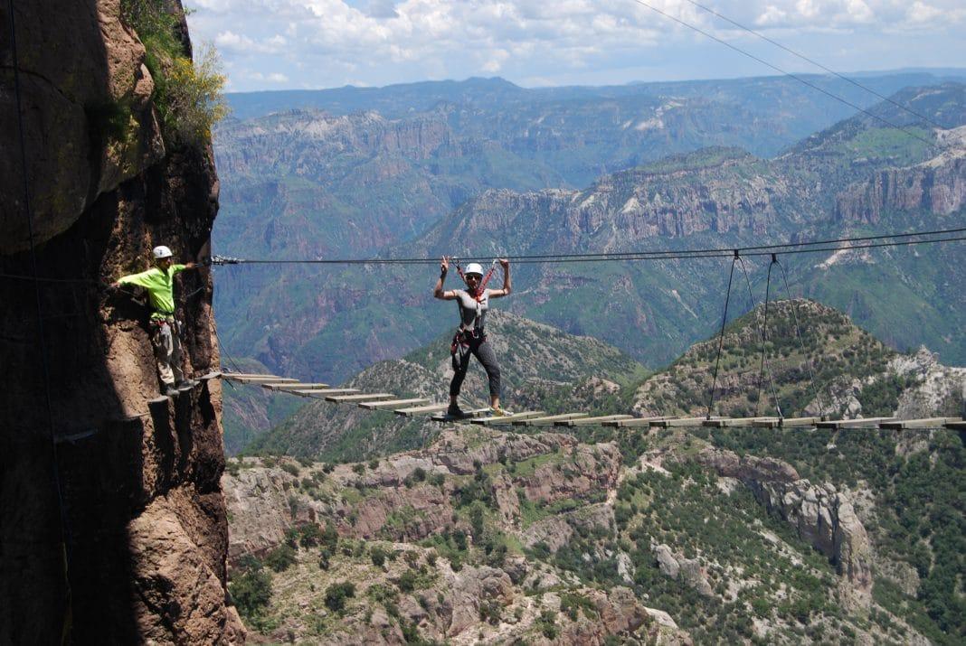Via Ferrata Copper Canyon Adventure Park