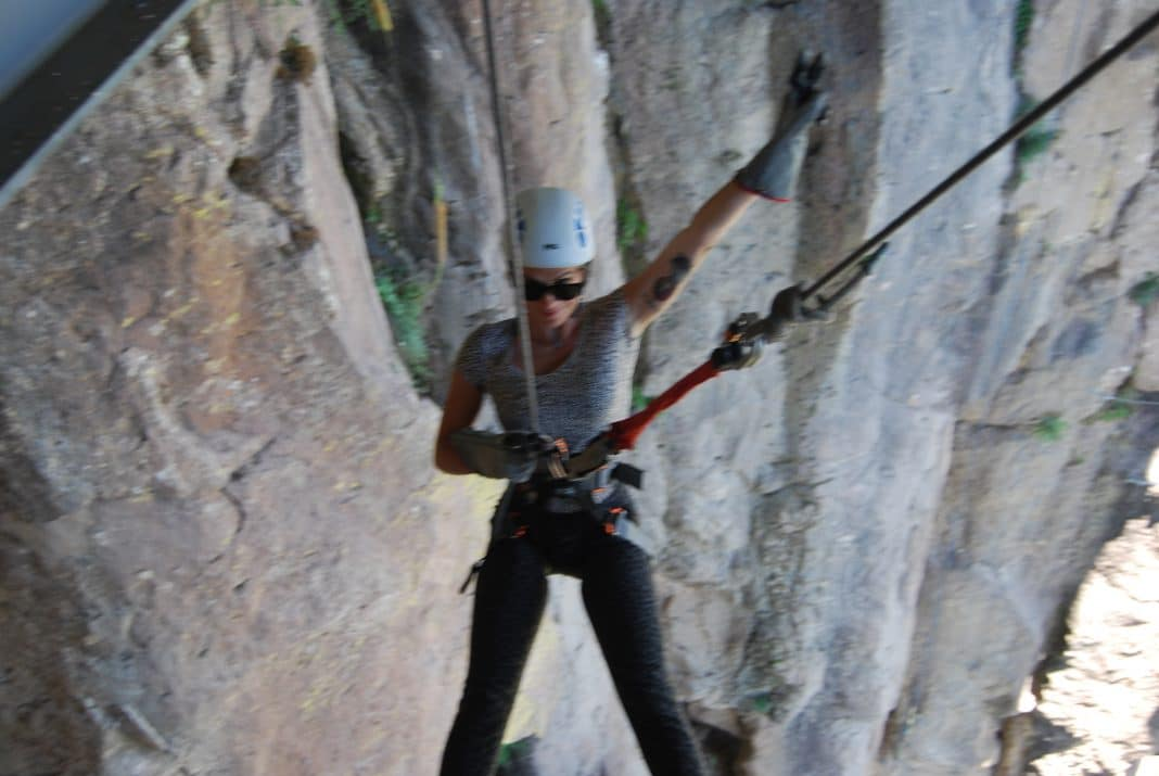 Via Ferrata Start Copper Canyon Adventure Park