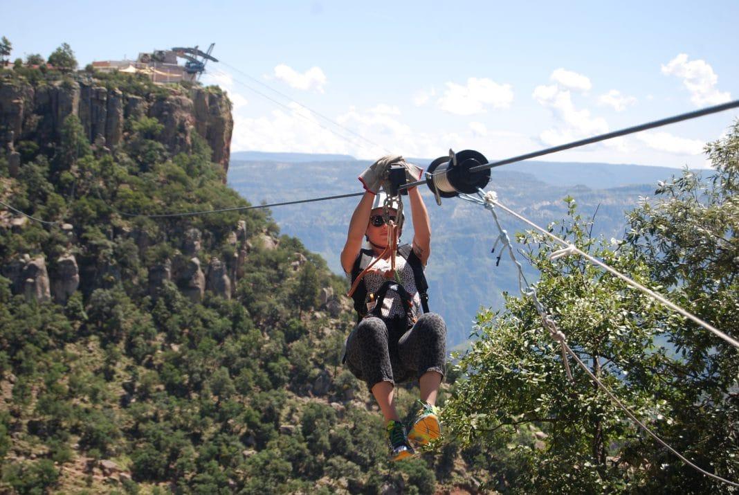 Zip Line Circuit Copper Canyon Adventure Park