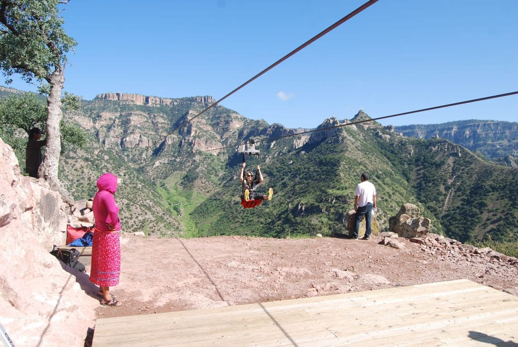 Zip Line Copper Canyon Adventure Park